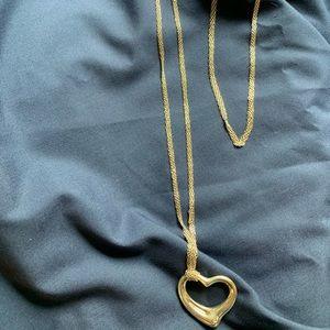 Tiffany & Co. Jewelry - COPY - Tiffany & Co. Sterling Silver Heart Penden…